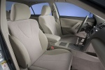 Picture of 2010 Toyota Camry LE Front Seats in Bisque