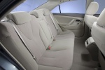 Picture of 2010 Toyota Camry LE Rear Seats in Bisque