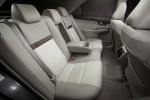 2012 Toyota Camry XLE Rear Seats