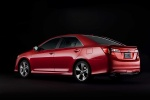 2012 Toyota Camry SE in Barcelona Red Metallic - Static Rear Three-quarter View