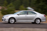 2012 Toyota Camry XLE in Classic Silver Metallic - Driving Side View