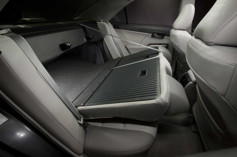 2014 Toyota Camry XLE Rear Seats Folded Picture