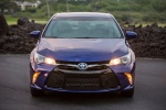 2015 Toyota Camry Hybrid SE in Blue Crush Metallic - Status Frontal View