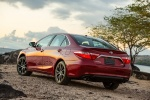 2017 Toyota Camry XSE in Ruby Flare Pearl - Status Rear Left View