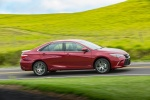 2017 Toyota Camry XSE in Ruby Flare Pearl - Driving Side View