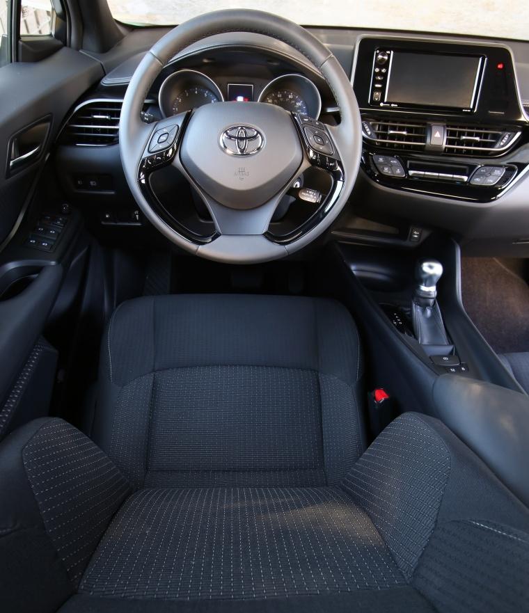 2018 Toyota C-HR Cockpit Picture