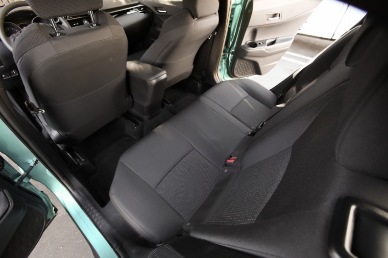 2018 Toyota C-HR Rear Seats Picture