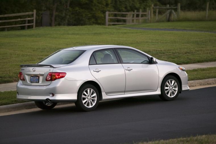 2010 Toyota Corolla S in Classic Silver Metallic Color  Static