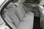 Picture of 2010 Toyota Corolla XLE Rear Seats in Ash
