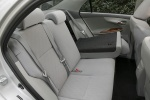 Picture of 2010 Toyota Corolla XLE Rear Seats Folded in Ash