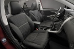 Picture of 2011 Toyota Corolla S Front Seats in Dark Charcoal