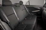 Picture of 2011 Toyota Corolla S Rear Seats in Dark Charcoal