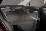 Picture of 2011 Toyota Corolla S Rear Seats Folded in Dark Charcoal