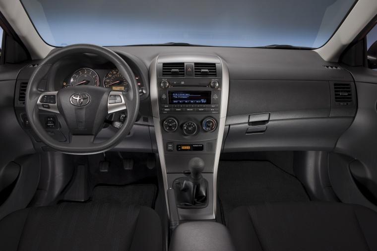 2012 Toyota Corolla S Cockpit Picture
