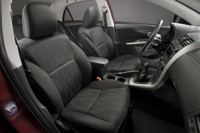 2012 Toyota Corolla S Front Seats Picture