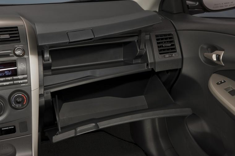 2012 Toyota Corolla S Glove Box Picture