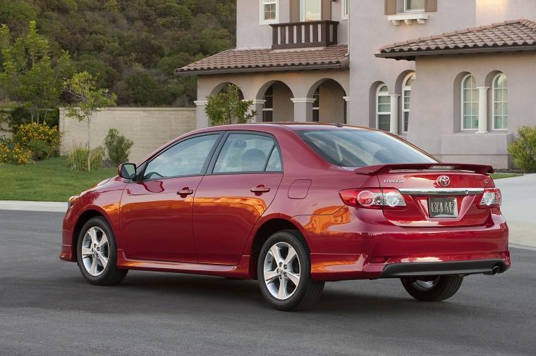 2012 Toyota Corolla S In Barcelona Red Metallic Color