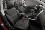 Picture of 2012 Toyota Corolla S Front Seats in Dark Charcoal