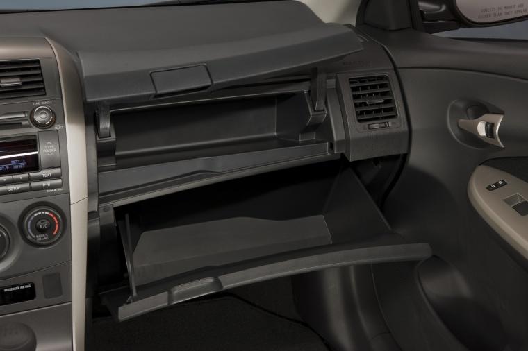 2013 Toyota Corolla S Glove Box Picture