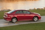2013 Toyota Corolla S in Barcelona Red Metallic - Static Rear Right View