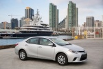 2015 Toyota Corolla L in Classic Silver Metallic - Static Front Right Three-quarter View