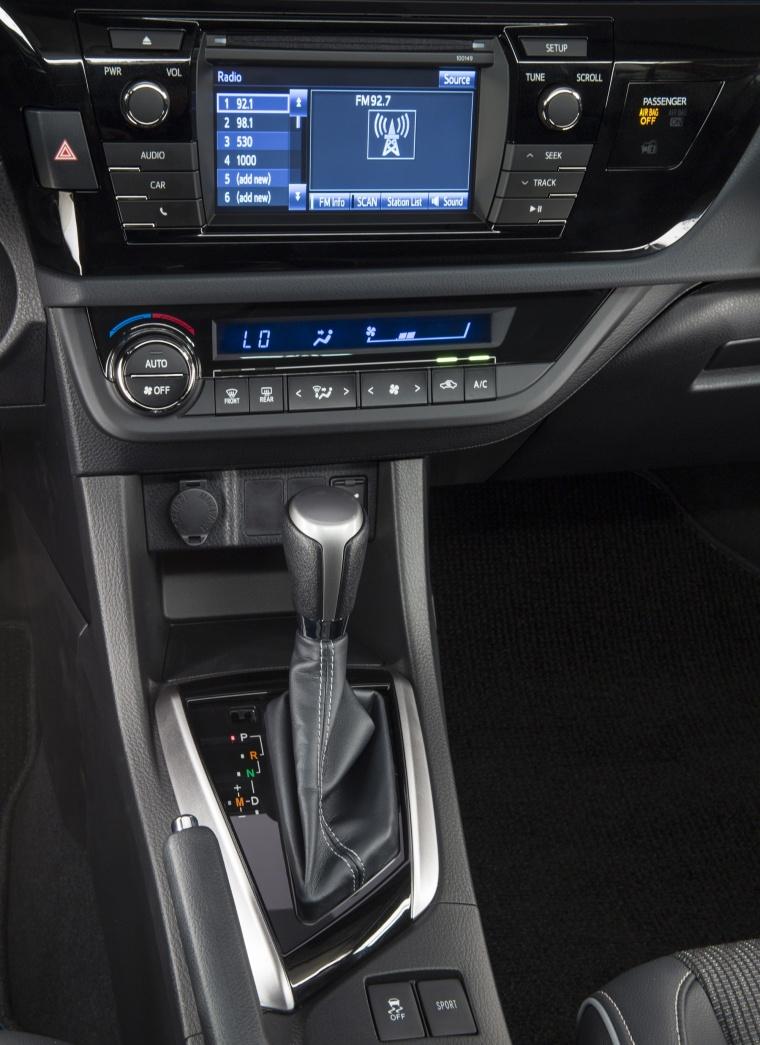 2016 Toyota Corolla S Premium Center Stack Picture