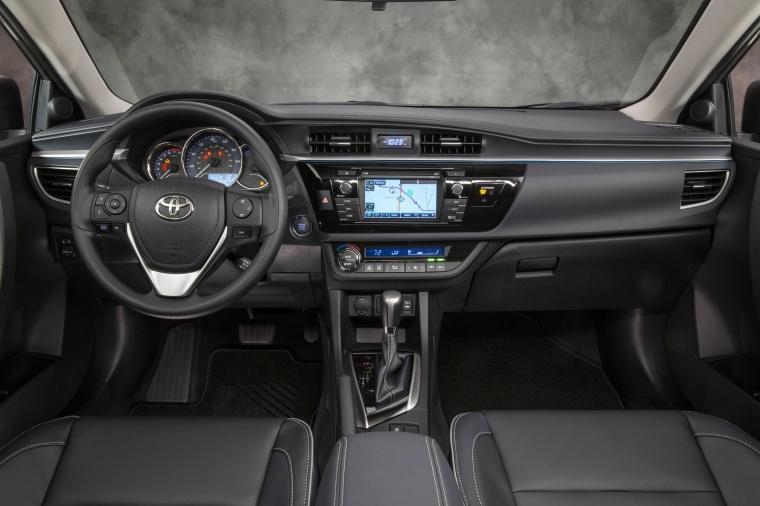 2016 Toyota Corolla LE Eco Cockpit Picture