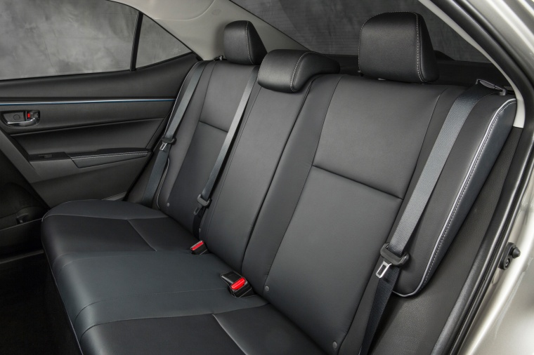 2016 Toyota Corolla LE Eco Rear Seats Picture