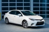 2016 Toyota Corolla LE Eco in Blizzard Pearl from a front right three-quarter view