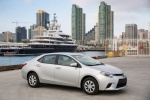 2016 Toyota Corolla L in Classic Silver Metallic - Static Front Right Three-quarter View