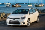 2016 Toyota Corolla LE Eco in Blizzard Pearl - Static Front Left View