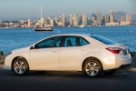2016 Toyota Corolla LE Eco in Blizzard Pearl - Static Rear Left Three-quarter View