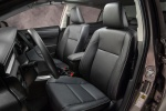 2016 Toyota Corolla LE Eco Front Seats in Black