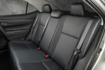 2016 Toyota Corolla LE Eco Rear Seats in Black