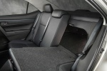 2016 Toyota Corolla LE Eco Rear Seats Folded in Black