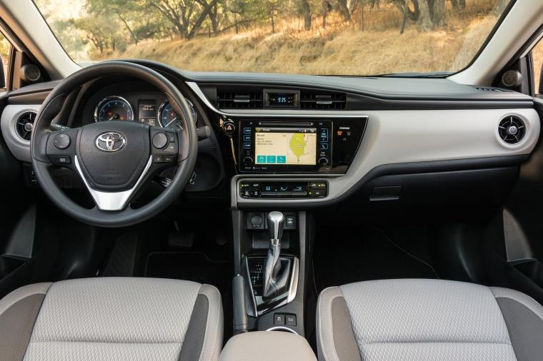 2017 Toyota Corolla LE Eco Cockpit Picture