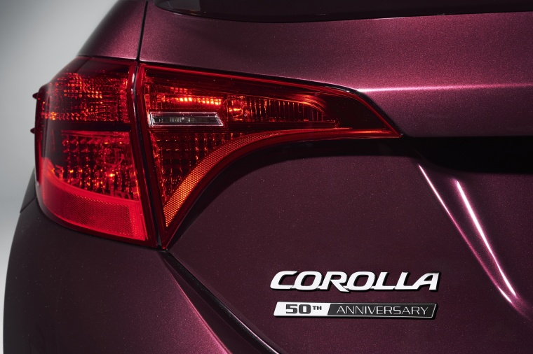 2017 Toyota Corolla 50th Anniversary Special Edition Tail Light Picture