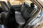 Picture of 2017 Toyota Corolla XSE Rear Seats