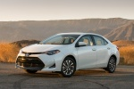 Picture of 2017 Toyota Corolla LE Eco in Blizzard Pearl