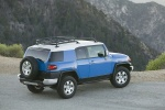 2010 Toyota FJ Cruiser - Static Rear Right Three-quarter Top View