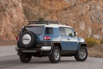 2012 Toyota FJ Cruiser in Cavalry Blue - Static Rear Right Three-quarter View