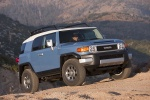 2012 Toyota FJ Cruiser in Cavalry Blue - Static Front Right View