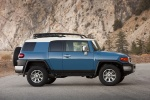 2013 Toyota FJ Cruiser in Cavalry Blue - Static Side View