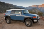 2013 Toyota FJ Cruiser in Cavalry Blue - Static Front Right Three-quarter View