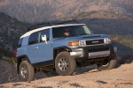 2013 Toyota FJ Cruiser in Cavalry Blue - Static Front Right View