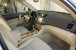 Picture of 2010 Toyota Highlander Hybrid Interior in Sand Beige