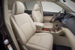 Picture of 2012 Toyota Highlander Front Seats in Sand Beige