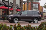 2012 Toyota Highlander Limited V6 in Sizzling Crimson Mica - Static Left Side View
