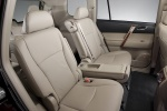 Picture of 2012 Toyota Highlander Rear Seats in Sand Beige