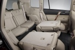 Picture of 2012 Toyota Highlander Third Row Seats in Sand Beige